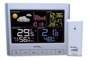 Technoline WS 6449 moderne Wetterstation mit LED-Anzeige